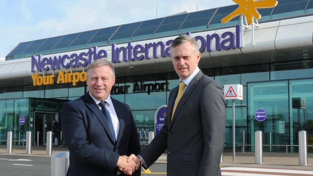 Partnership With Newcastle International Airport