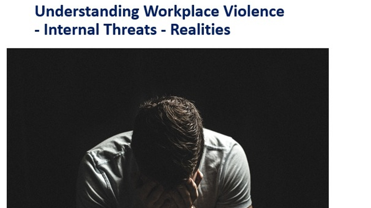 Workplace Violence Prevention Programme